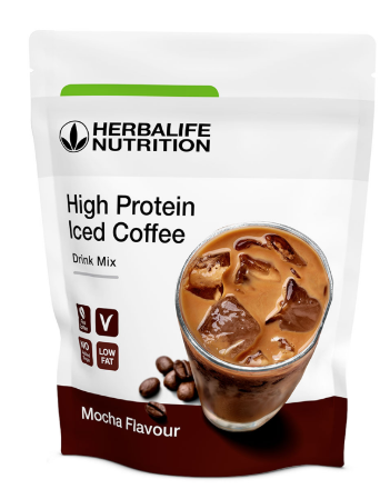 High Protein Iced Coffee Mocha Flavour