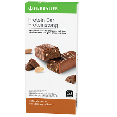 Protein Bars Chocolate Peanut 14 bars per box
