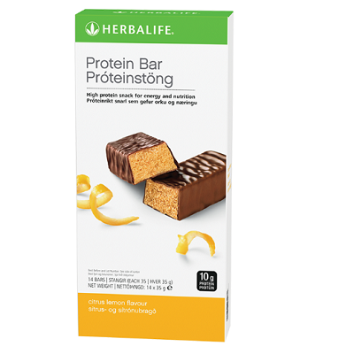 Protein Bars Citrus Lemon 14 bars per box