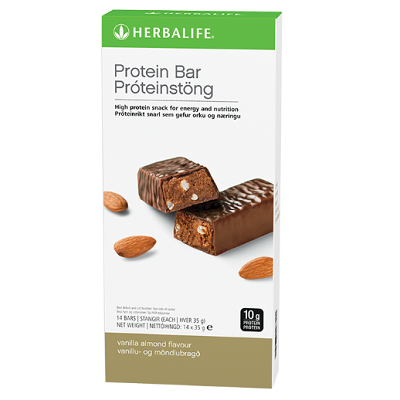 Protein Bars Vanilla Almond 14 bars per box