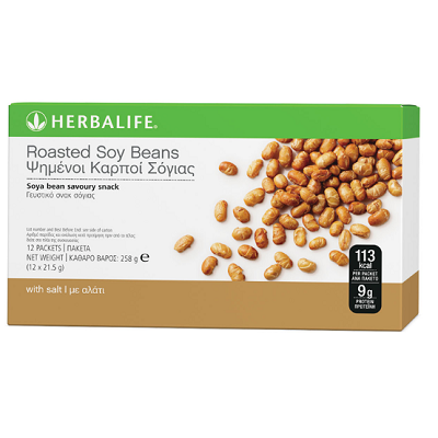 Roasted Soy Beans 12 per box 21.5g
